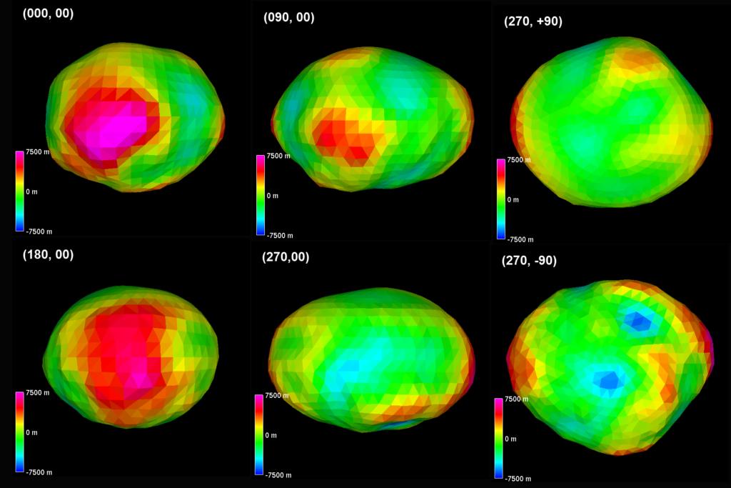 Гигантский золотой астероид может уничтожить экономику Земли