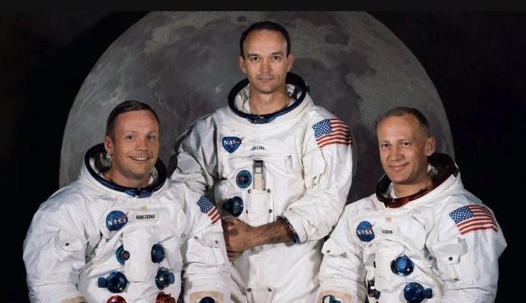Космонавты миссии Аполлон 11