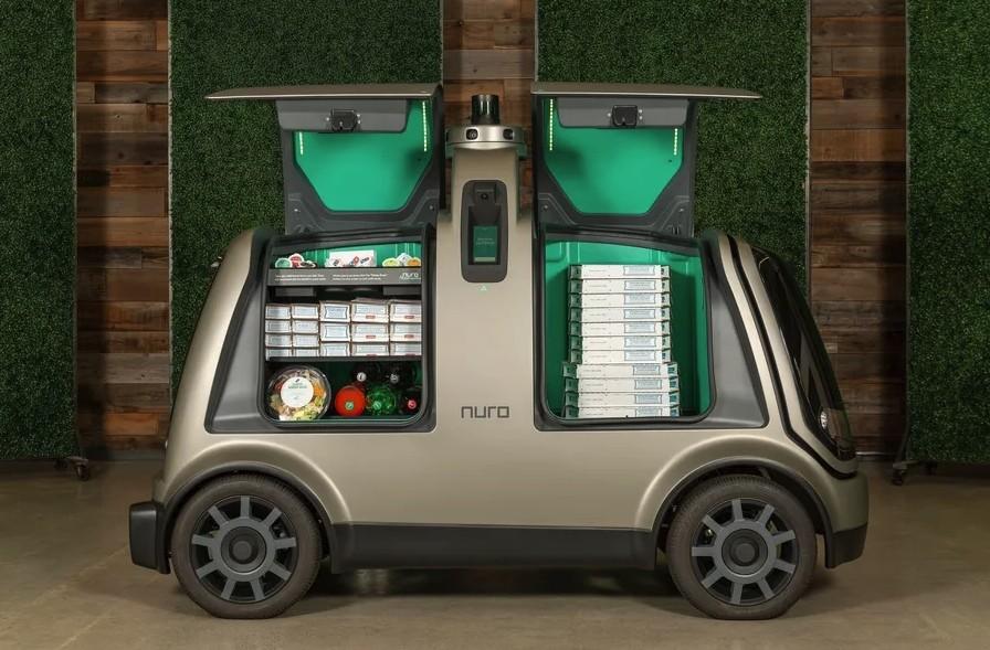 Устройство автономного автомобиля почтальона от компании Nuro