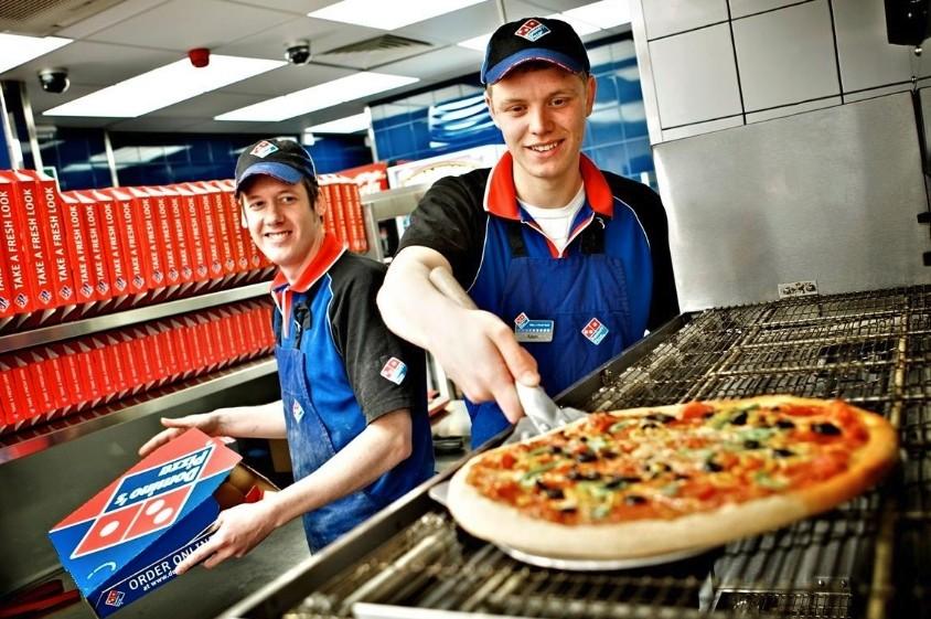 Пицца Домина - наиболее популярная пицца в США