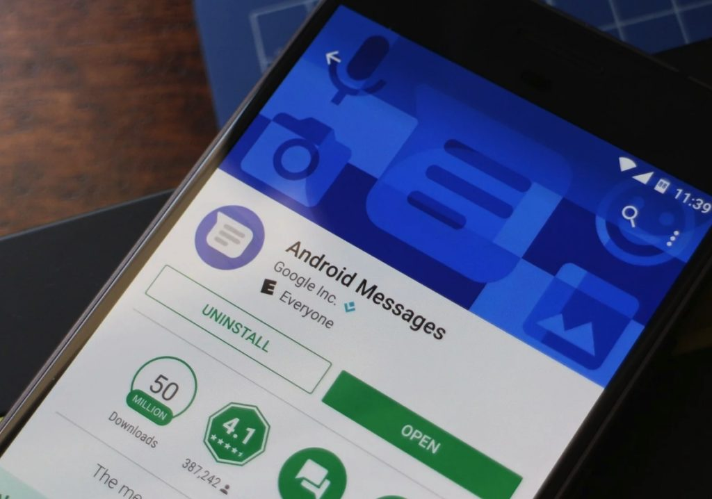 Новое приложение Google Chat