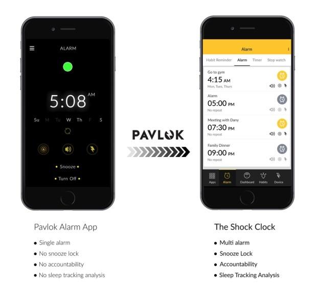 Мобильное приложения для использования браслета Pavlock