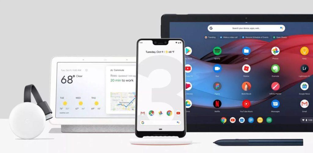 Семейство устройств google pixel