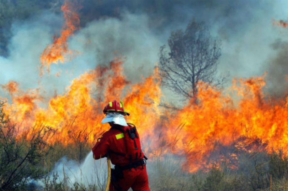 Пожары в Европе 2013 года