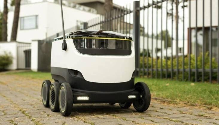 Автономный автомобиль от Starship Technologies