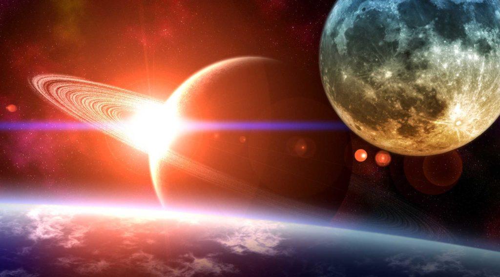 Титан - луна Сатурна