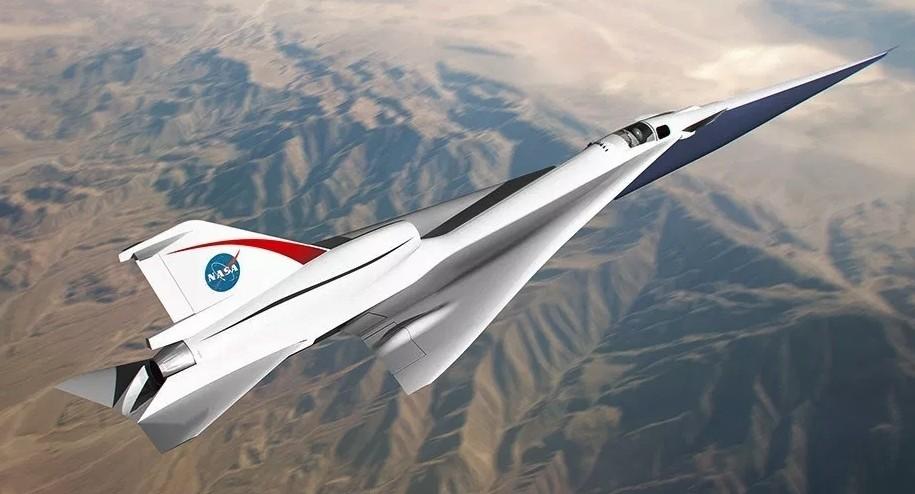Новый сверхзвуковой самолет X-59 QueSST