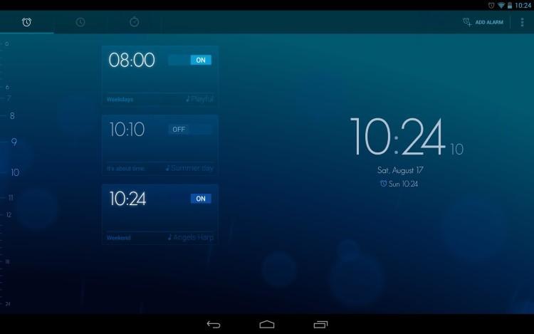 Приложение Timely для Android
