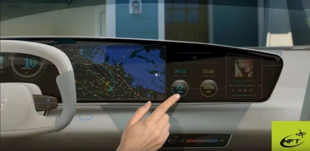 Панель управления электромобиля ASKA