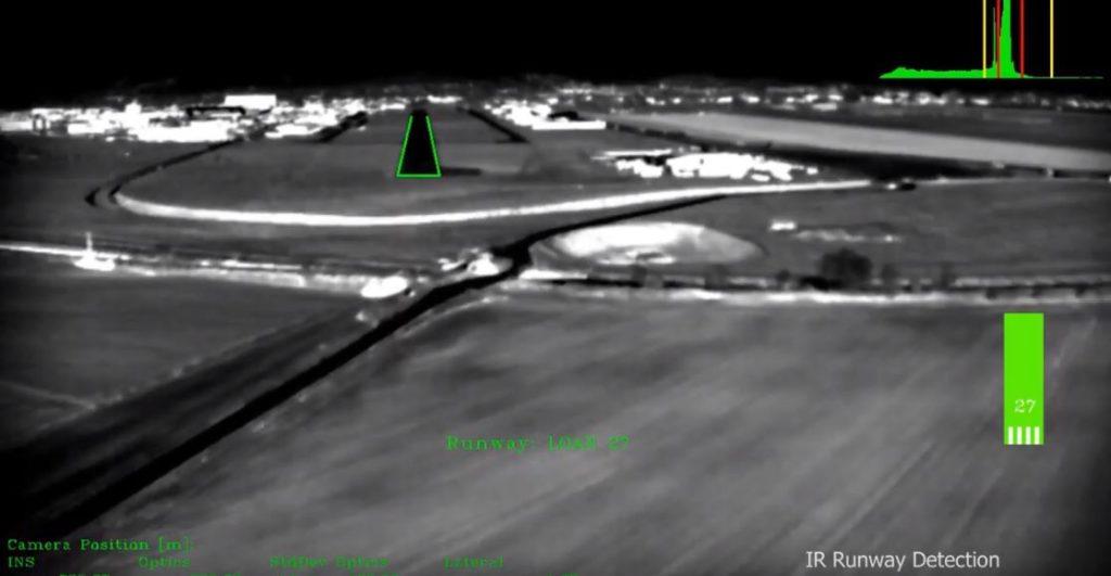 инфракрасная камера самолета
