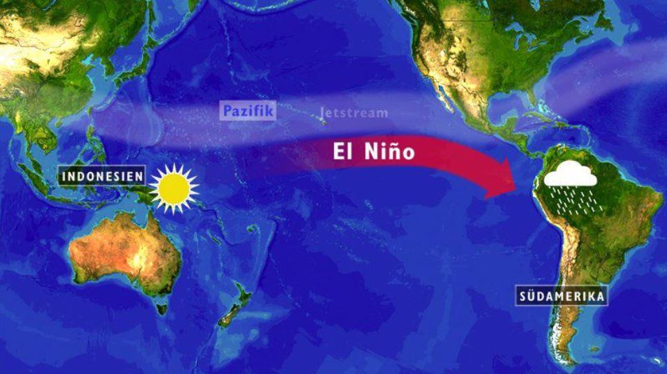 Потепление течения Эль-Ниньо