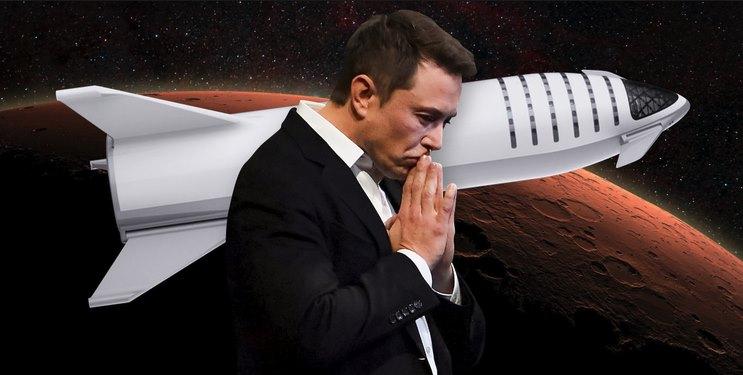 Илон Маск отправит людей на Марс на своей новой ракете