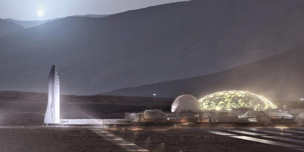 """Прибежище людей на Марсе от Илона Маска, на случай """"восстания роботов"""""""