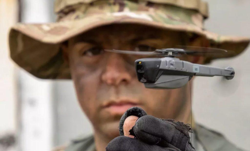 Военные США используют мини дроны Flir в Афгане