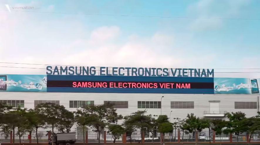 Сборочный завод Самсунг во Вьетнаме