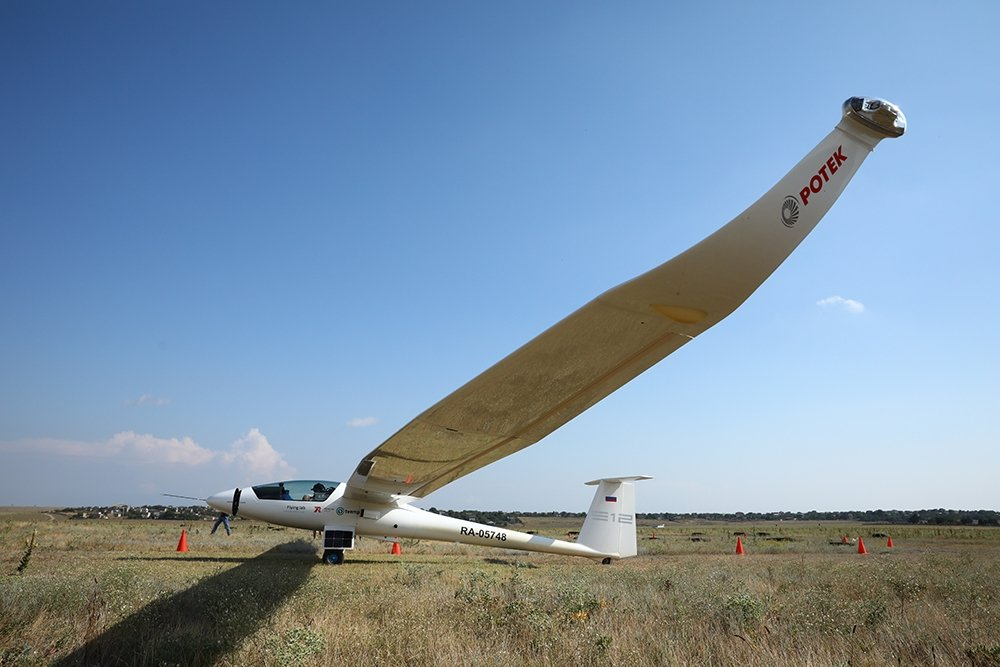 Самолет Flying Lab