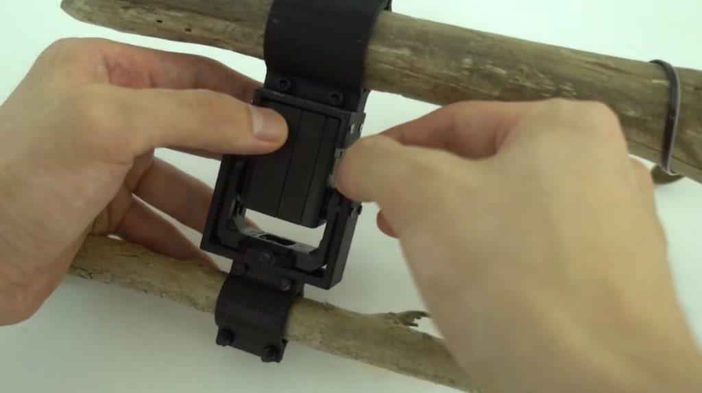 сборка робота из палки