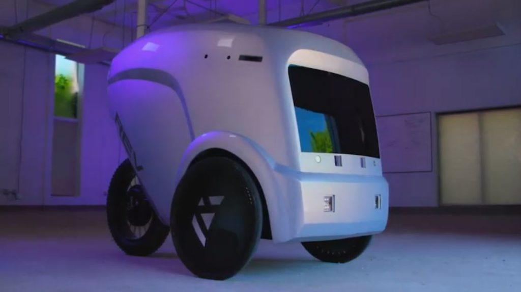 новый робот-курьер от компании Reflection
