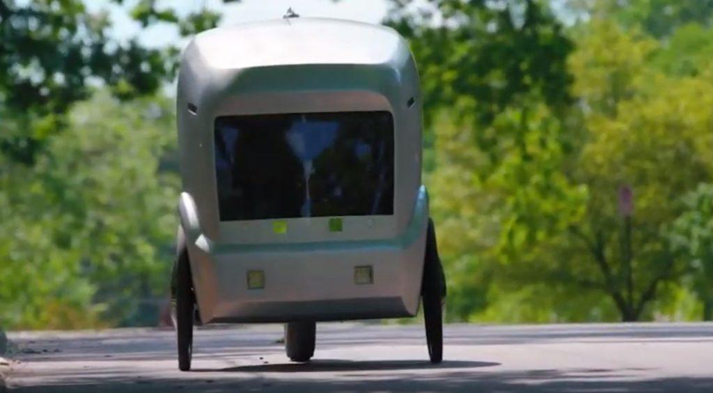 автономный робот-курьер Rev-1