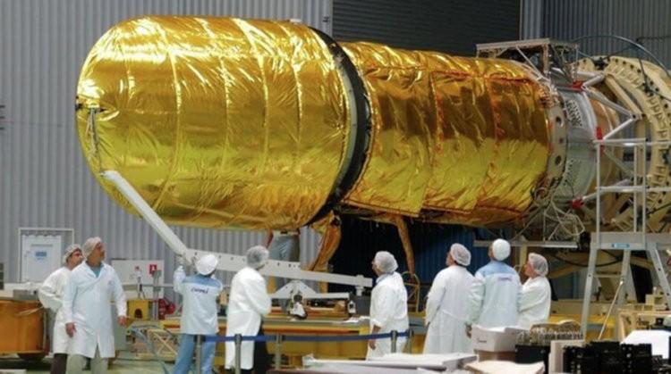 Подготовка телескопа к полету