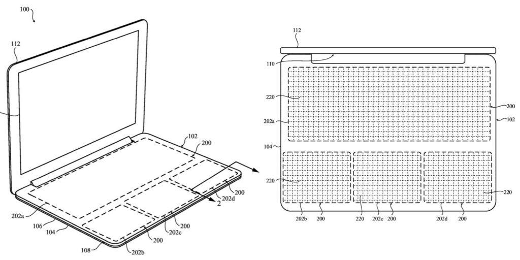 Патент Apple на сенсорную клавиатуру